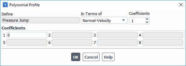 تعیین پارامترهای ورودی در فن
