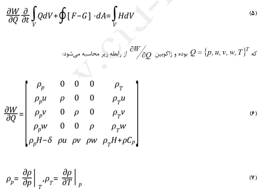پیش شرط معادلات حلگر چگالی مبنا