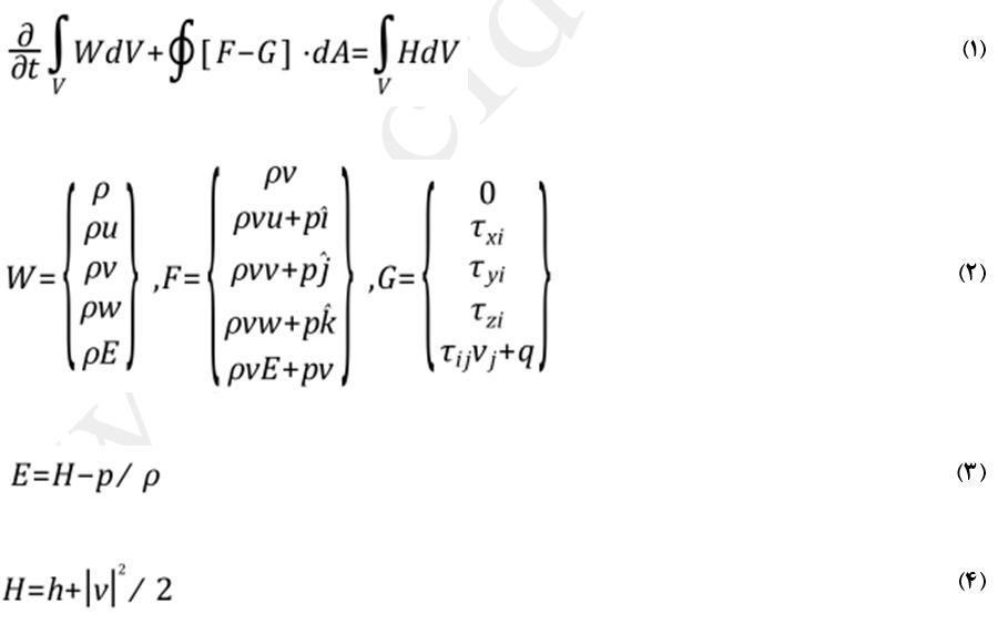 فرم برداری معادلات در حلگر چگالی مبنا