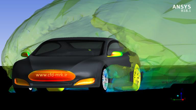 شبیهسازی CFD تسلا (Tesla CFD Simulation)