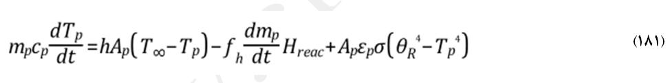 4-5-5 انتقال جرم و حرارت طی احتراق کربنی