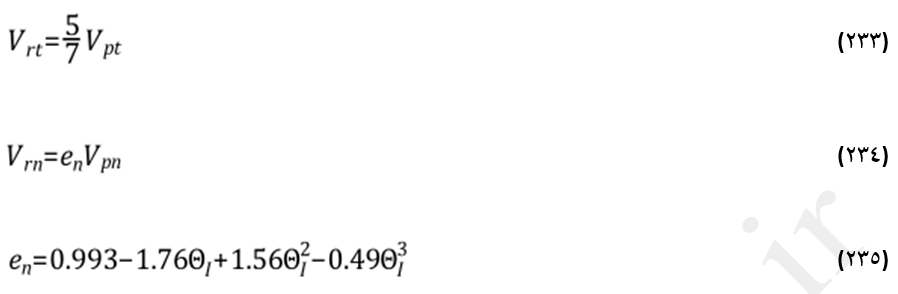 سرعت بازگشت قطره در مدل استانتن-روتلند (The Stanton-Rutland Model)